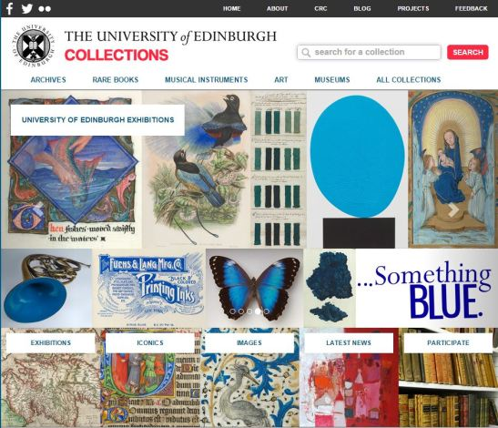 Edinburgh collection online