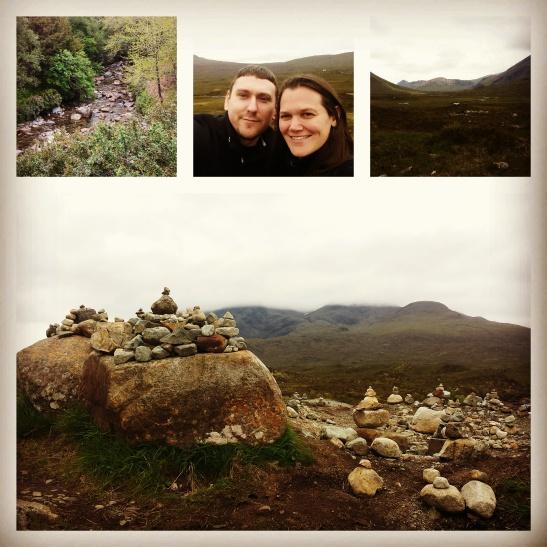 Walking around the Isle of Skye