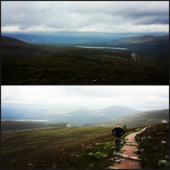 Views form Cairngorms